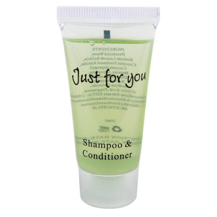 SHAMPOOING 20 ML X 100 JUST FOR YOU NGF948