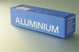 ALUMINIUM 200 M X 45 CM BOITE DISTRIBUTRICE   E010138