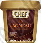 JUS D'AGNEAU CHEF   A140858