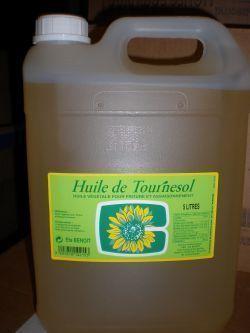 HUILE DE TOURNESOL 5 L | A000662