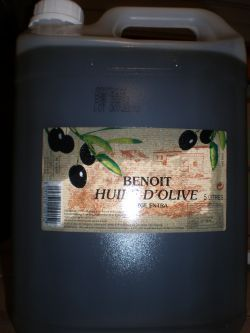 HUILE OLIVE VIERGE 5 L | A1700
