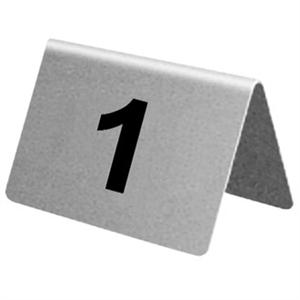 NUMERO DE TABLE INOX DE 1 À 10 U046