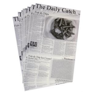 CARRE DE PAPIER SULFURISE IMPRESSION JOURNAL 270X420 X 500 FEUILLES GF036