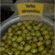 OLIVES VERTES RONDELLES 3/1   A141781