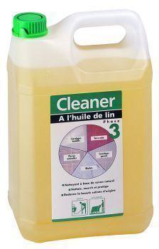 CLEANER HYPER SAVON A L'HUILE DE LIN 5 L   E211370