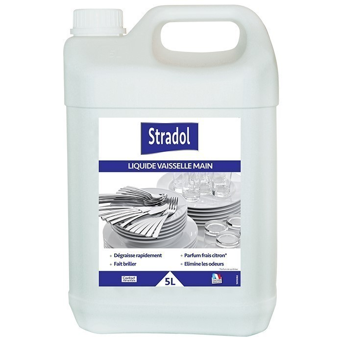 STRADOL VAISSELLE MAINS 5 L | E000019
