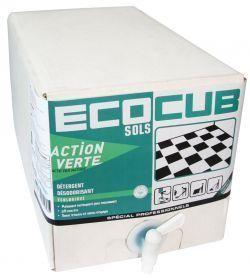ACTION VERTE ECOCUB SOL 10 L | E127530