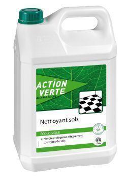 ACTION VERTE NETTOYANT SOL 5L   E127090