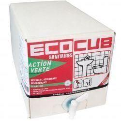 ACTION VERTE ECOCUB SANITAIRES 10 L | E12752
