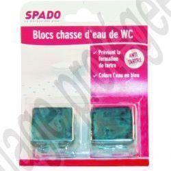 BLOC CHASSE D'EAU BLEUE 50 GRS X 2 | E326076