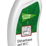ACTION VERTE DETARTRANT WC 750 ML | E127020