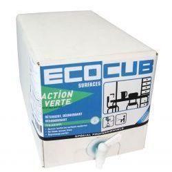 ACTION VERTE ECOCUB VITRES ET SURFACES 10 L | E127510