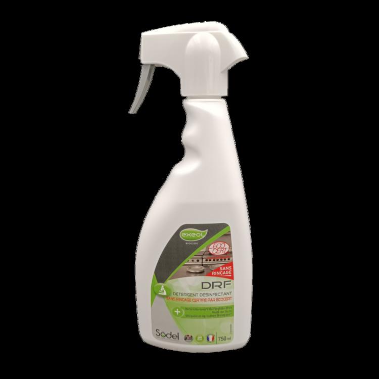 Désinfectant Alimentaire Sans Rinçage 750 ML DRF