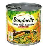 PETITS POIS CARROTTES BONDUELLE 5/1   A210775